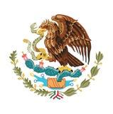 墨西哥,传染媒介例证的标志 免版税库存照片