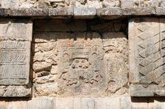 墨西哥,奇琴伊察玛雅人废墟 图库摄影