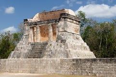 墨西哥,奇琴伊察玛雅人废墟 库存照片