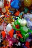 墨西哥滑稽的五颜六色的纪念品辅助部件装饰只适合于小孩的事物 库存照片