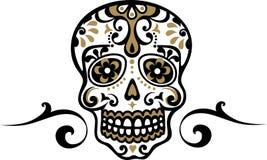 墨西哥头骨 库存照片