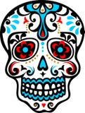 墨西哥头骨 皇族释放例证
