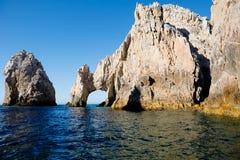 墨西哥 Cabo圣卢卡斯曲拱  免版税图库摄影