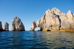 墨西哥 Cabo圣卢卡斯曲拱  免版税库存图片