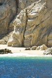 墨西哥- Cabo圣卢卡斯-岩石和海滩 免版税图库摄影