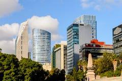 墨西哥DF的建筑学 免版税库存照片