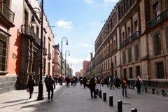 墨西哥DF的建筑学 免版税图库摄影