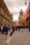 墨西哥DF的建筑学 图库摄影