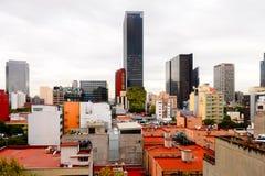 墨西哥DF的建筑学 库存照片