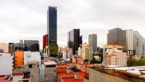 墨西哥DF的建筑学 库存图片