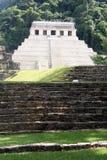 墨西哥palenque金字塔 免版税库存照片