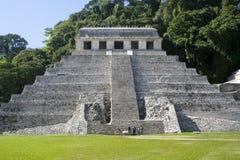 墨西哥palenque 免版税库存图片