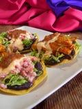 墨西哥quesadillas炸玉米饼 免版税库存图片