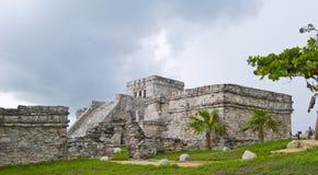 墨西哥tulum 免版税库存图片