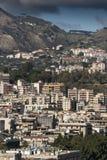 墨西拿西西里岛的郊区 免版税库存照片