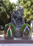 墨西拿 西西里岛 对俄国慈悲的水手、英雄和自我牺牲的纪念碑 免版税库存图片