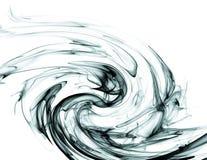 墨水在水中 免版税库存图片