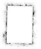 墨水弄脏框架 免版税库存照片
