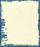 墨水被弄脏的纸背景 库存照片