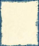 墨水被弄脏的纸背景 库存图片