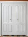 壁橱门 免版税图库摄影