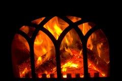 壁炉壁炉边 免版税库存图片