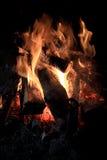 壁炉壮观 免版税库存照片