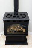 壁炉气体 免版税库存图片
