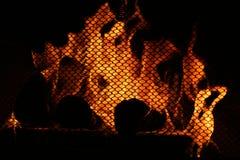 壁炉温暖 免版税库存照片