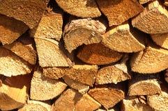 壁炉的木头 免版税图库摄影