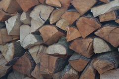 壁炉的Woodblock 免版税图库摄影
