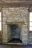 壁炉石头 免版税库存照片
