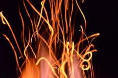 壁炉舞蹈2 库存图片