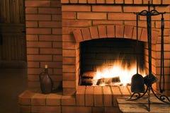 壁炉视图 库存照片