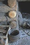 壁炉边先驱 免版税库存图片