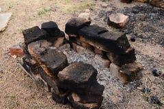 壁炉边 免版税图库摄影