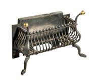 壁炉铁花格老古董 免版税库存图片