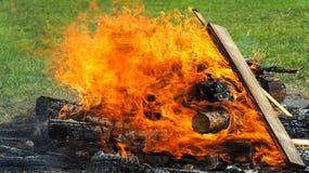 壁炉-普遍在波兰 免版税库存照片
