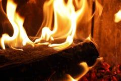 壁炉细节 免版税库存照片