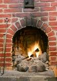 壁炉 免版税图库摄影
