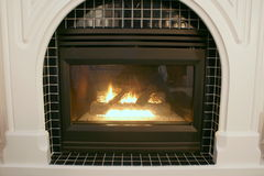 壁炉 免版税库存图片