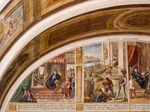 壁画宫殿 免版税库存照片