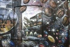 壁画2016年多伦多spadaina 免版税库存图片