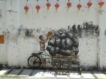 壁画 免版税库存图片