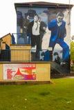 壁画 Derry伦敦德里 北爱尔兰 王国团结了 免版税图库摄影