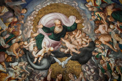 壁画Pomponio Amalteo 免版税库存图片