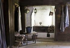 壁角厨房 库存照片
