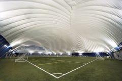 壁角圆顶内部新的体育运动视图 免版税库存照片