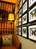 壁角室装饰顶楼样式 免版税库存照片