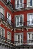 壁角房子马德里 免版税库存图片